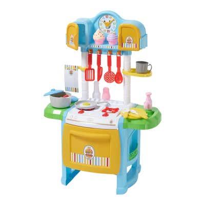 Spielküche mit Licht und Sound, ca. 50x30x72cm