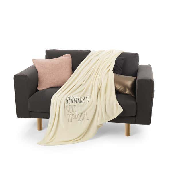 Decke im angesagten GNTM-Style, ca. 150x200cm