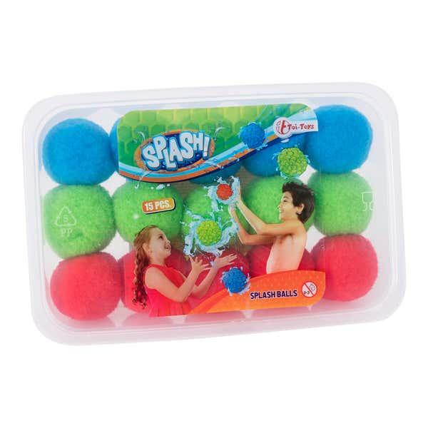 Super-Splashbälle, 15er Pack