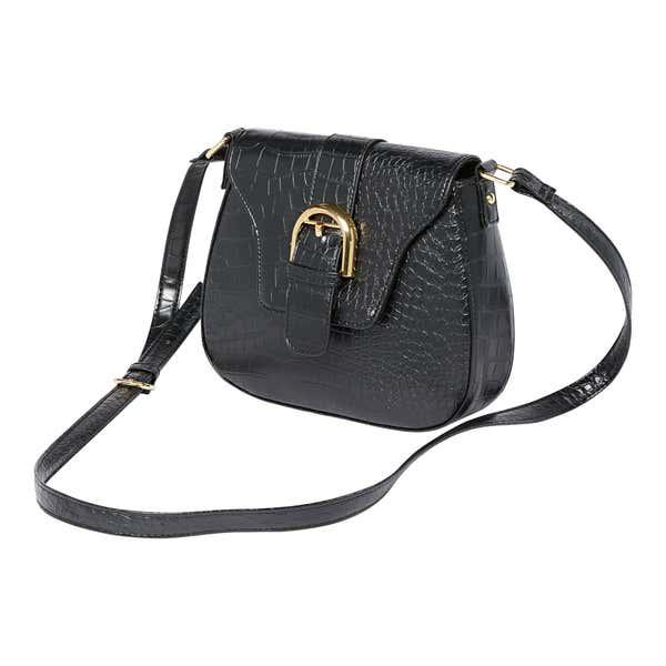 Damen-Handtasche mit Zierschnalle
