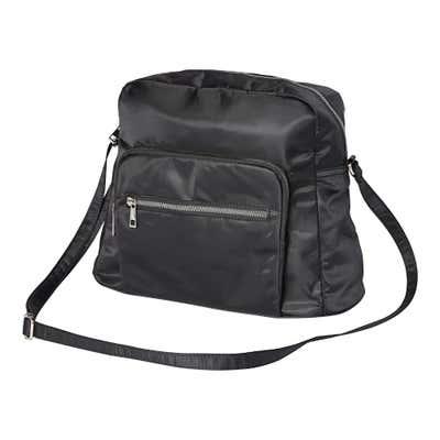 Damen-Handtasche mit Reißverschluss-Vorfach