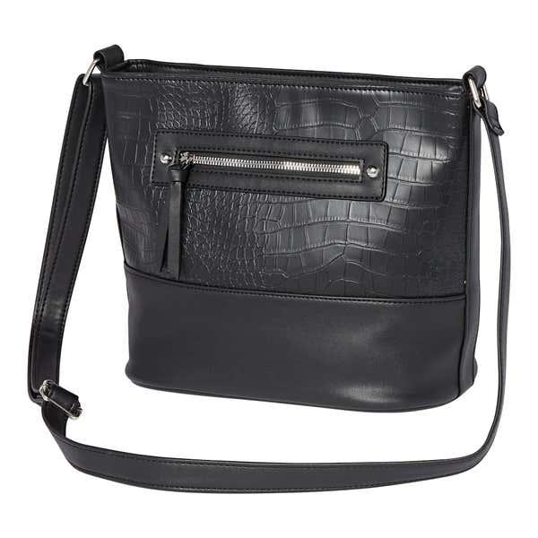 Damen-Handtasche mit Struktur-Effekt