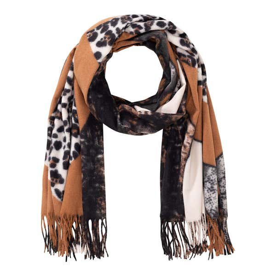 Damen-Schal mit Tiermuster-Design