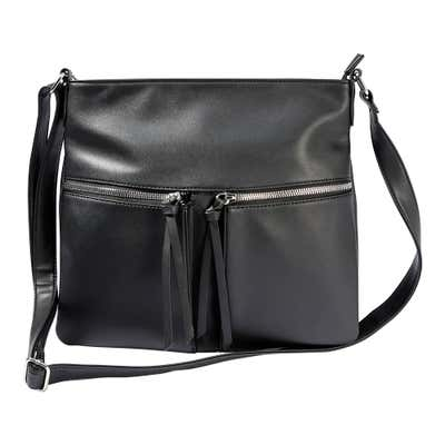 Damen-Handtasche in Nappaleder-Optik