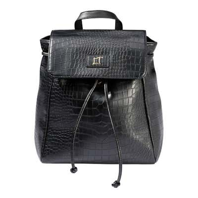 Damen-Rucksack in Kroko-Optik