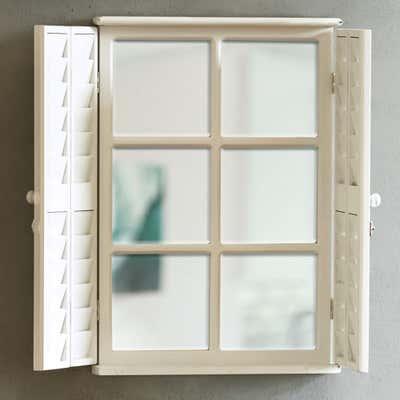 Deko-Spiegel mit Fenster