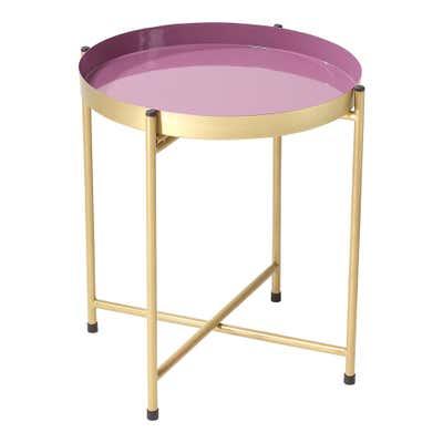 Deko-Tisch mit abnehmbarem Tablett, ca. 38x38x40cm