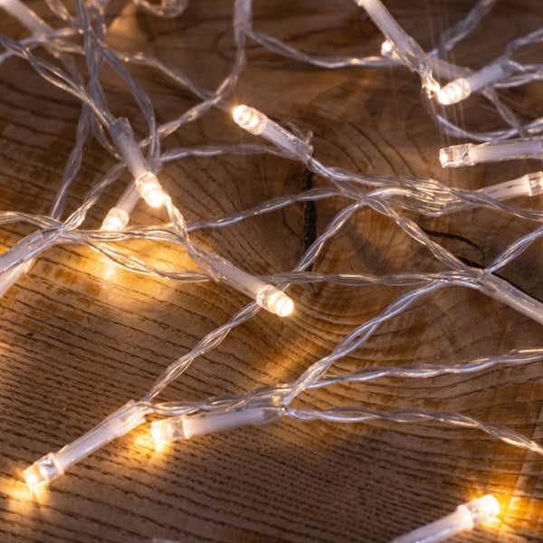 LED-Lichterkette mit 100 LEDs, ca. 10m