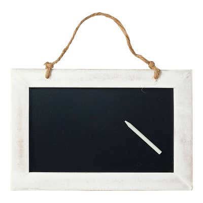 Dekotafel mit Stift, ca. 30x20x1cm