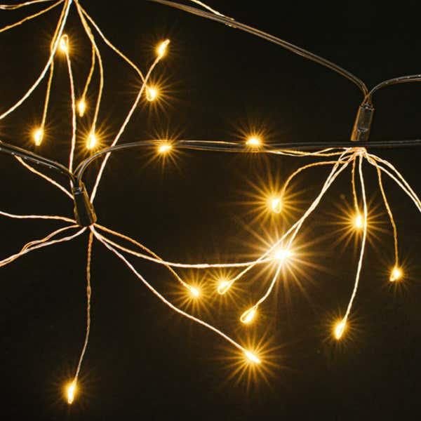 LED-Lichterkette mit Mini-LEDs, ca. 270cm