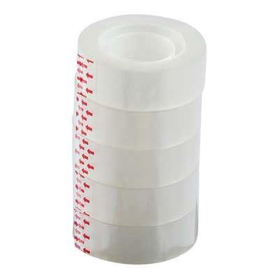 Klebefilm, 5er Pack, 18mm x 33m