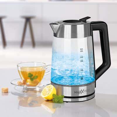 MAXX MEE Glaswasserkocher mit Farbwechsel, ca. 22x16x28cm