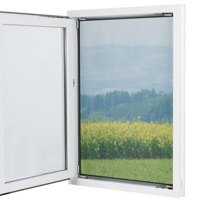 Magic Klick Moskitonetz für Fenster, 150x130cm