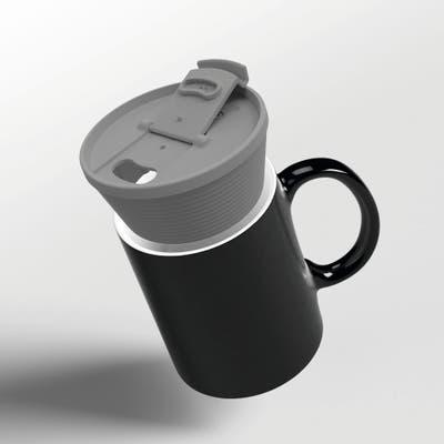 DHDL - UDO, wiederverwendbarer to-go Deckel