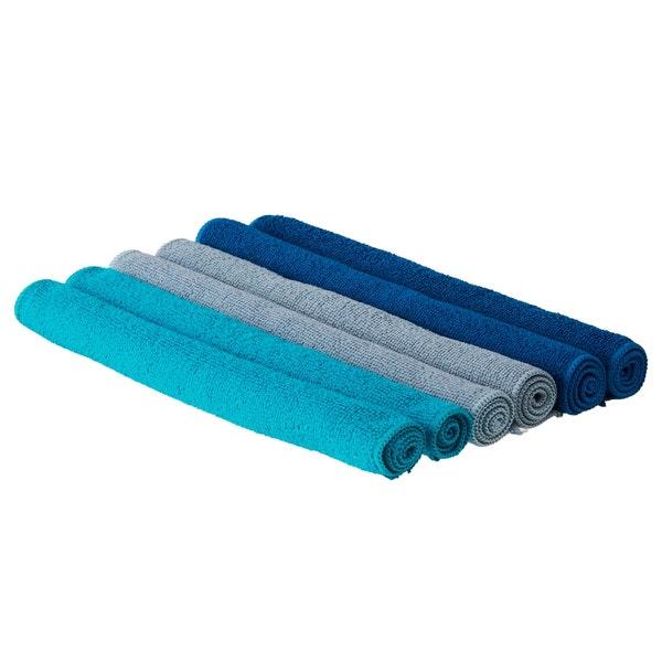 Beldray Mikrofaser Tücher im 6er-Pack, ca. 30x30cm