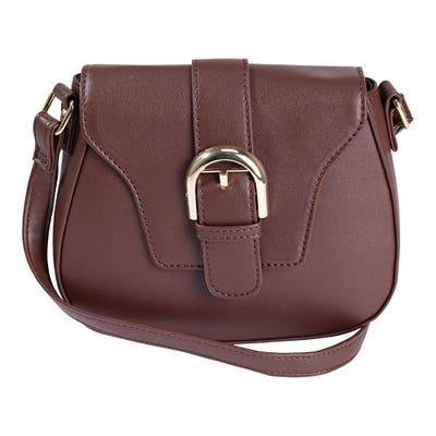 Damen-Handtasche in Leder-Optik, ca. 20x18x6cm