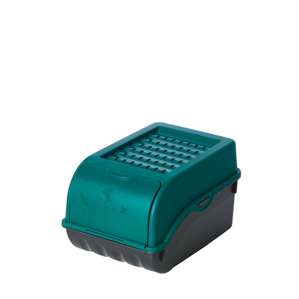Zwiebel- und Knoblauchaufbewahrungsbox, ca. 21x14x13cm