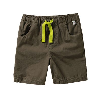 Baby-Jungen-Shorts mit Kontrast-Kordel