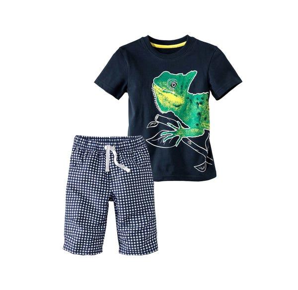 Jungen-T-Shirt und Bermudas, 2-teilig