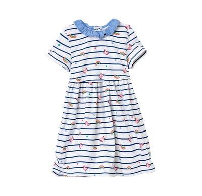 Baby-Mädchen-Kleid mit schönen Regenbögen