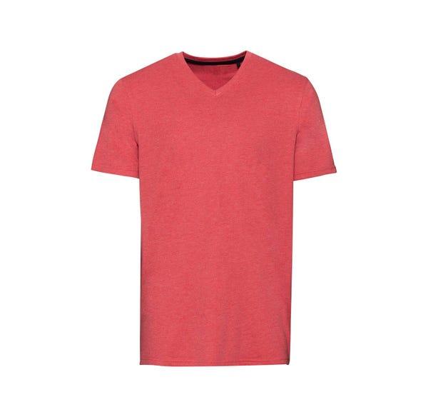 Herren-T-Shirt in trendiger Sommerfarbe