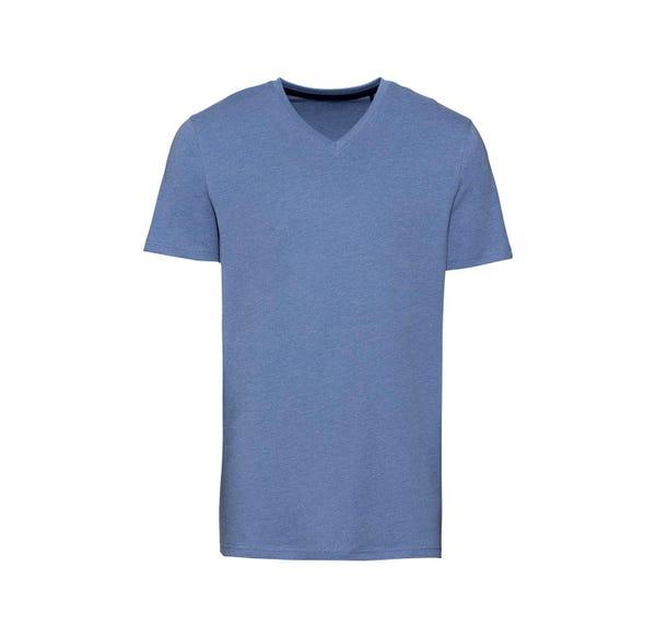 Herren-T-Shirt in dezenter Sommerfarbe