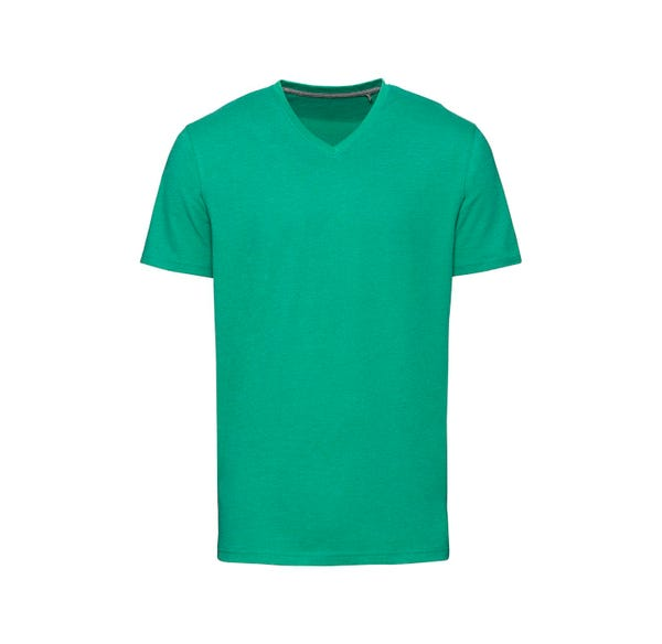 Herren-T-Shirt mit V-Ausschnitt