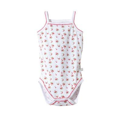 Baby-Trachten-Mädchen-Body mit Spaghettiträgern