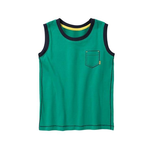 Jungen-Top mit kleiner Brusttasche