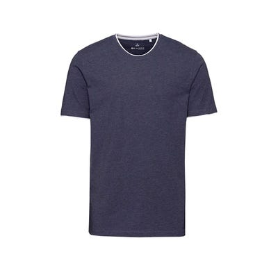 Herren-T-Shirt in angesagter Melange-Optik