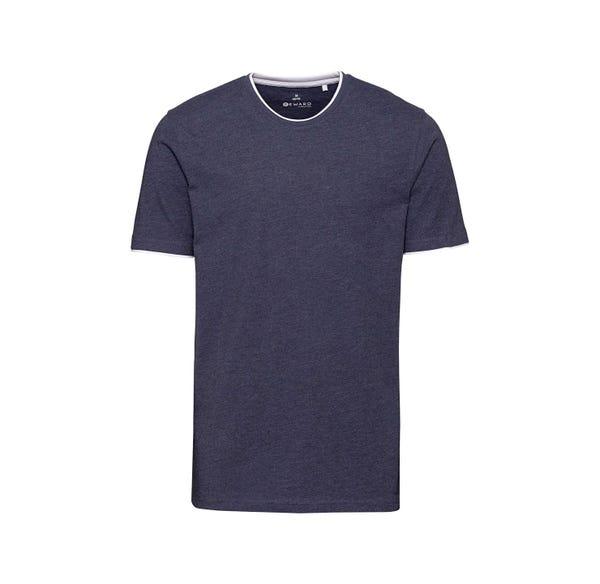 Herren-T-Shirt in angesagter Melange-Optik