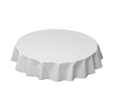 Wachstuchtischdecke für runde Tische, Ø ca. 140