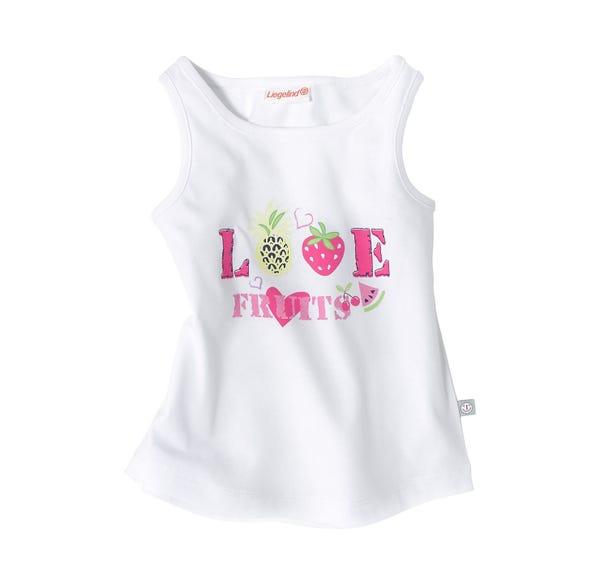Baby-Mädchen-Top mit fruchtigem Design