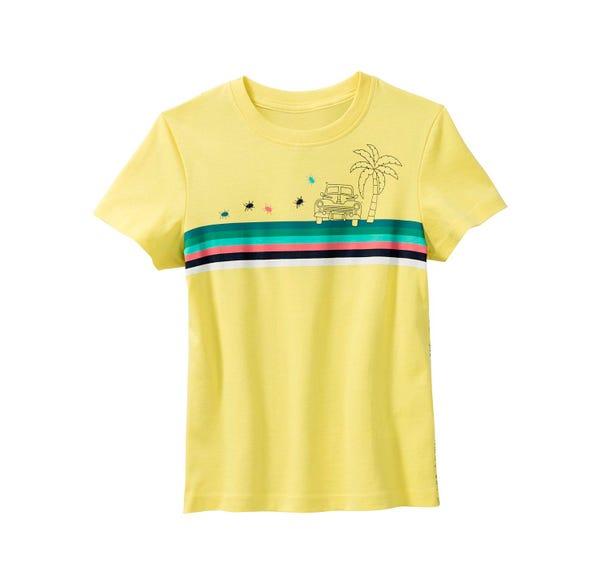 Jungen-T-Shirt mit modischen Streifen