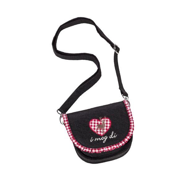 Damen-Trachten-Handtasche mit Rüschen