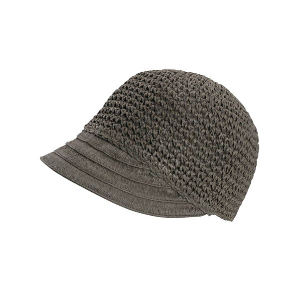 Damen-Hut mit schickem Schirmchen