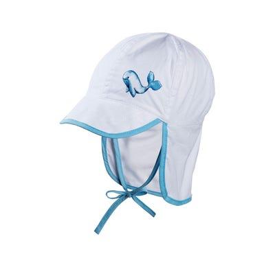 Baby-Mütze mit Nackenschutz