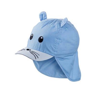 Baby-Mütze mit Tiergesicht