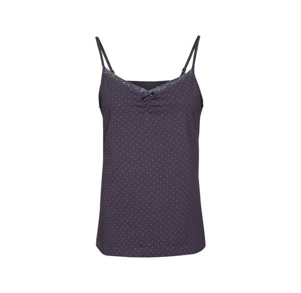 Damen-Schlaftop mit Punkte-Muster, Mix&Matc