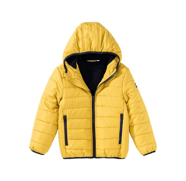 Jungen-Jacke mit Kontrast-Design