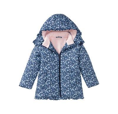 Mädchen-Jacke mit Blümchen-Muster
