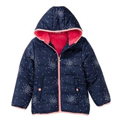 Mädchen-Jacke mit Sternchen-Muster