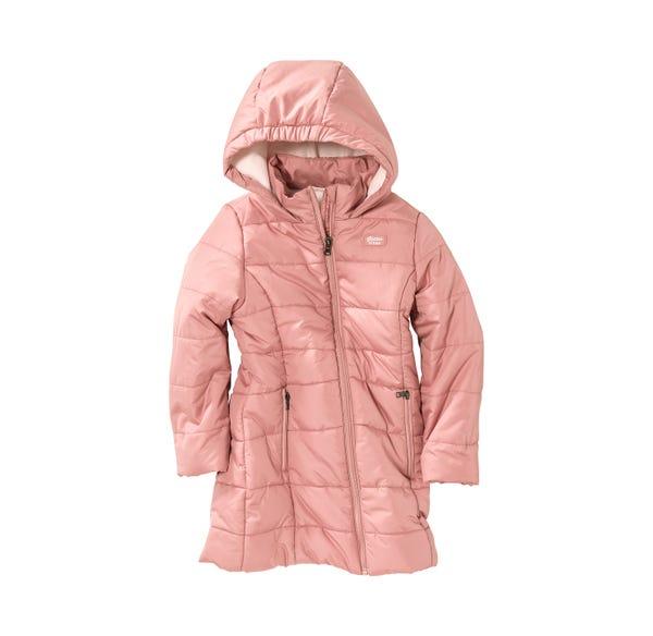 Kinder-Mädchen-Mantel mit weichem Fleecefutter