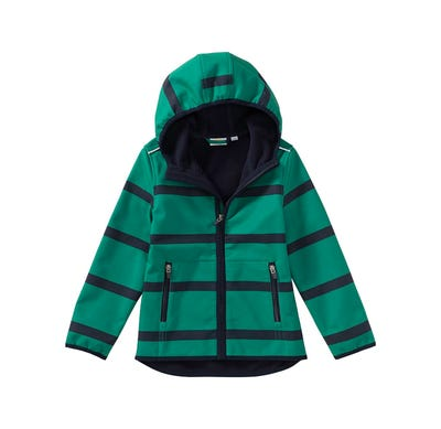 Jungen-Softshell-Jacke mit Kapuze