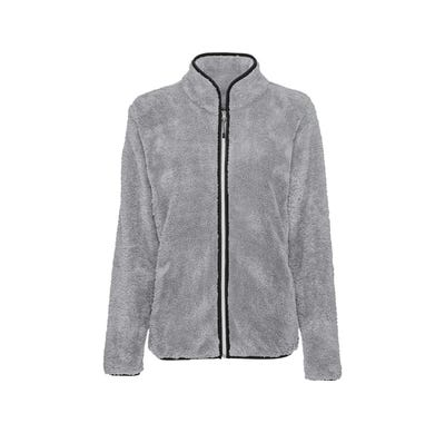 Damen-Fleecejacke in Teddyfleece-Optik