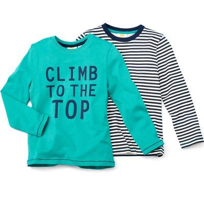 Jungen-Shirt im vorteilhaften 2er Pack