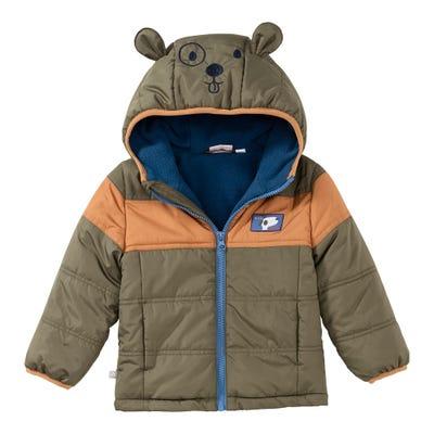 Baby-Jungen-Jacke mit süßen Öhrchen