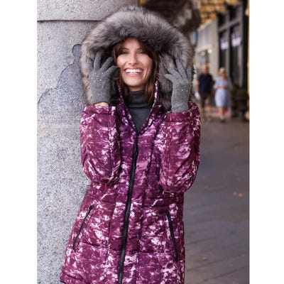 Damen-Jacke mit trendiger Steppung