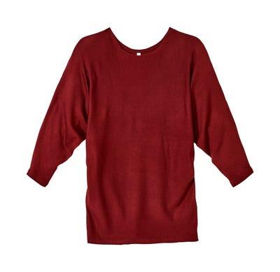 Damen-Pullover mit trendigen Fledermausärmeln