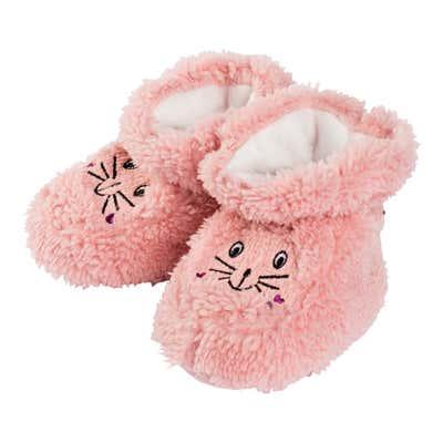 Baby-Mädchen-Plüsch-Schuhe